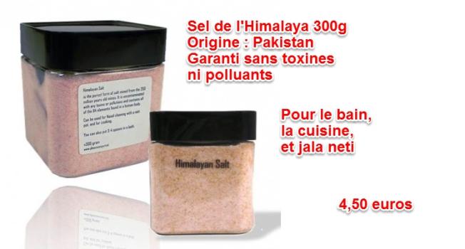 sel de l'himalaya