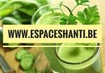 Jus vert pour alcaliniser lecorps